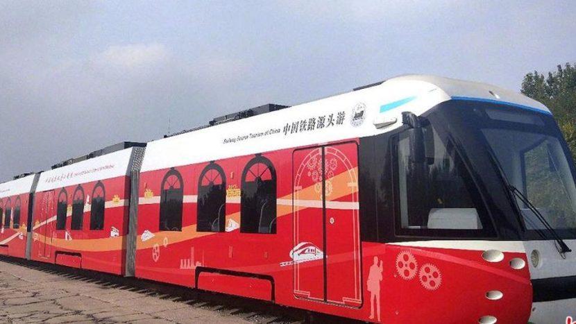 Vodíková električka v Číne