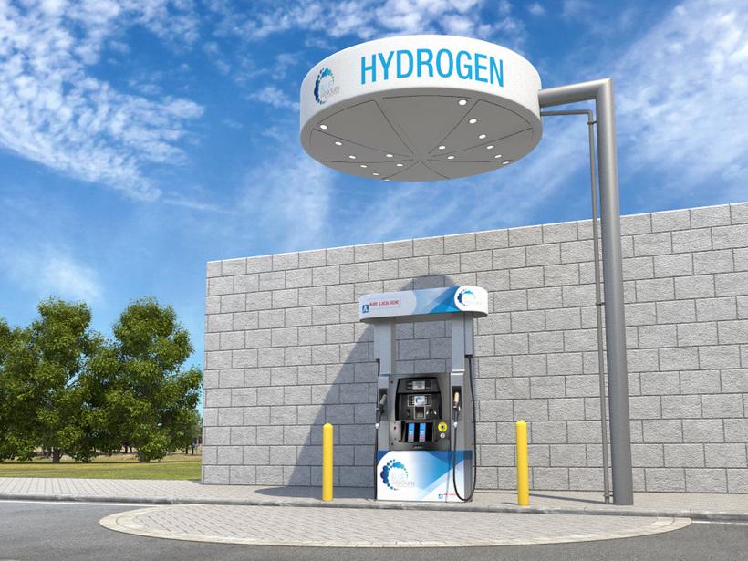 Vodíková čerpacia stanica
